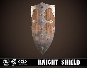 Knight Shield 05 3D asset