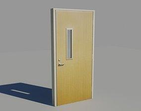 3D asset Door 9 Office