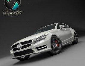 3D Mercedes Benz CLS CDI 2012 studio