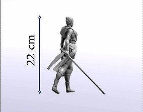 STATUE REY 22 cm 3D printable model
