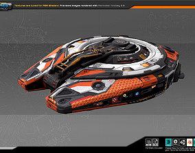 3D model EXPLORER Shuttle EX5