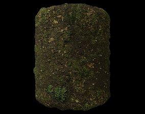 PBR Scanned Grassy Soil material 3D