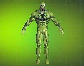 3D model Gameready Venom Hydra - 12 - max fbx obj png