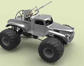 weapon-challenge 3D model Big Foot from Mad Max Fury Road