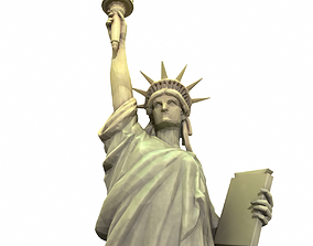 Statue Of The Liberty 3D asset