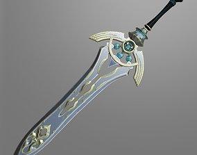 Fantasy sword7 3D