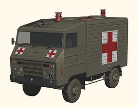 Japan Ground Self-Defense Force Type-73 rescue 3D model