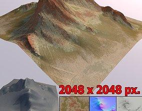 3D model Lowpoly Mountain MT001