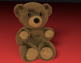 3D asset Stuffed Teddy Bear