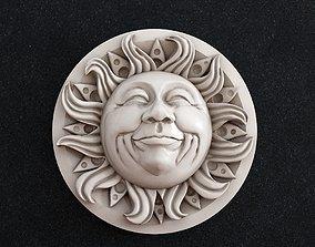 3D print model Sun Face mask