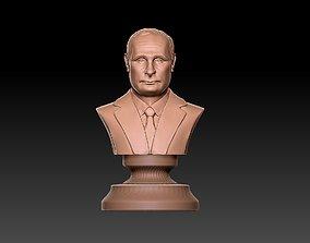 Vladimir Putin bust putin 3D printable model