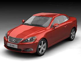 Lexus IS250C Coupe Convertible 2009 3D model