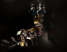 3D model Robotic Arm machine