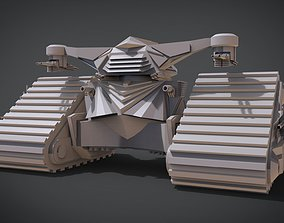 Hunter Killer Tank 3D printable model