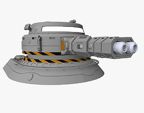 3D Heavy plasma turret