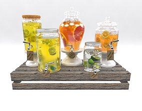 Lemonade set 2 3D