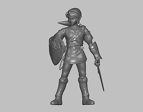 Link figurine 3D printable model