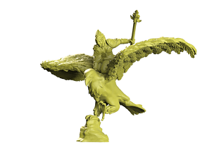 Eagle rider 3D printable model