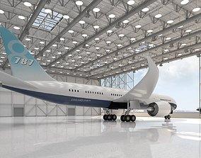 jet Hangar 3D model