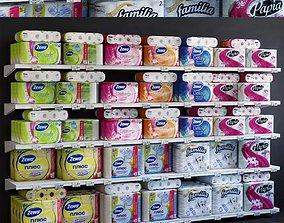 Showcase 019 Toilet paper 3D asset
