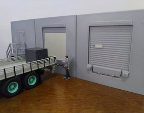 3D printable model Diorama scale 1-43 Dock Logistics 1