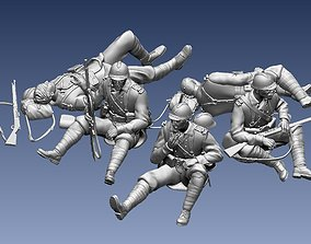 French soldier 3D printable model