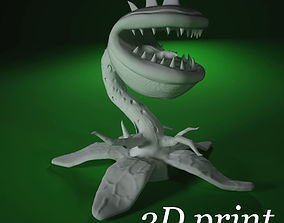 character Monster plant for 3D printing