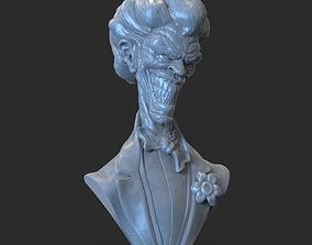 3D printable model Joker Bust
