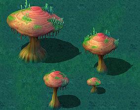3D Cartoon version - years of Ganoderma lucidum