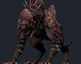 3D asset Creature Mount