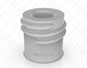 Neck of PET Preform - SP - 415 - 20 - L 3D