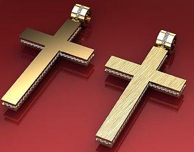3D print model Polished cross