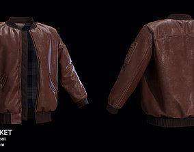 Bomber Jacket for Marvelous Designer fashion 3D