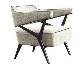 Club chair 072 3D model
