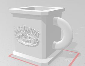 Jack Daniels Mug 3D print model