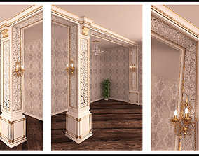 VR / AR ready 3D Decorative Panel