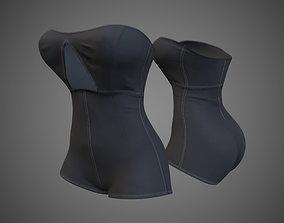 3D model Grey suit