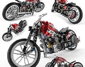 3D Lego Technic Motorbike Alternative
