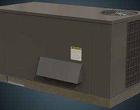 3D asset Rooftop AC Unit 5A