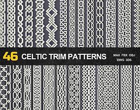 3D 46 Celtic Trim Patterns