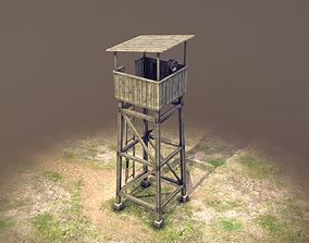 Observation Tower 01 3D model