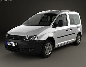 3D model Volkswagen Caddy 2004