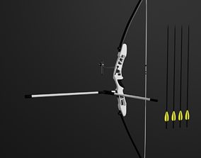 Olympic recurve bow 3D