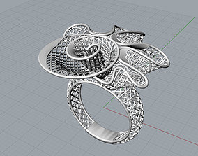 104 mesh rings 3D print model