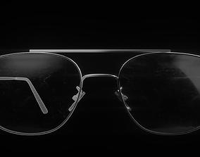 Double Bridge Glasses 3D model