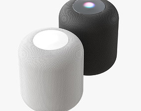 3D model electronics Apple HomePod