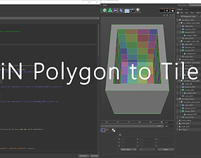 3D iN Polygon to Tile