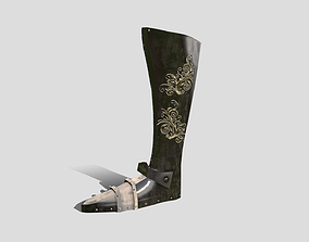 3D model Medieval - Boots - Stylised