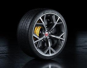Jaguar F-Type R Wheel 3D
