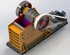 PE 1200x1600 JAW CRUSHER 3D model